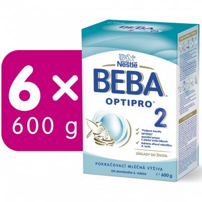 BEBA OPTIPRO 2 6x600 g