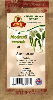 AGROKARPATY CESNAK MEDVEDÍ list bylinný čaj 1x30 g