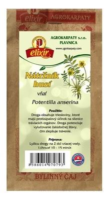 AGROKARPATY NÁTRŽNÍK HUSÍ vňať bylinný čaj 1x30 g