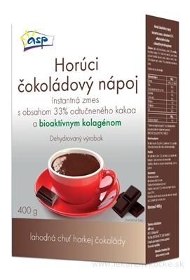 asp Horúci ČOKOLÁDOVÝ NÁPOJ s bioaktívnym kolagénom, práškový 1x400 g