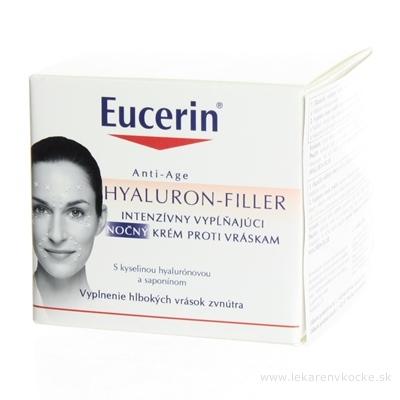 Eucerin HYALURON-FILLER nočný krém proti vráskam intenzívny vyplňujúci krém 1x50 ml