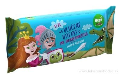 Bupi KIDS Vlhčené utierky 1x15 ks