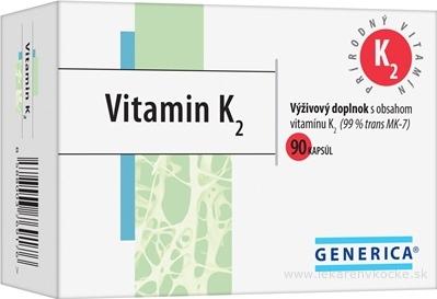 GENERICA Vitamin K2 cps 1x90 ks