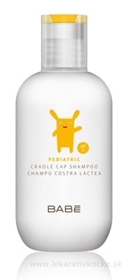 Babé šampón na mliečnu chrastu pH5 200 ml