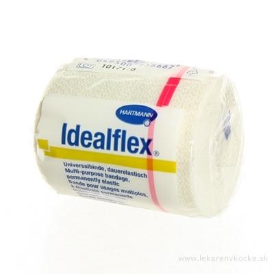 IDEALFLEX ovínadlo elastické krátkoťažné (6cm x 5m) 1x1 ks