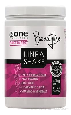 aone Nutrition LINEA SHAKE - Beauty prášok na prípravu proteínového koktailu, príchuť čokoláda 1x400 g