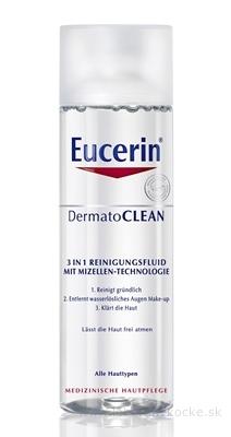 Eucerin DermatoCLEAN čistiaca micelárna voda 3v1 pre všetky typy pleti 1x200 ml