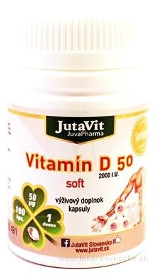 JutaVit Vitamín D 50 soft cps 1x100 ks