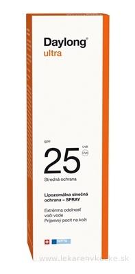 Daylong ultra SPF 25 spray (sprej na opaľovanie) 1x150 ml
