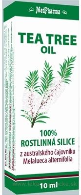 MedPharma TEA TREE OIL 100% rastlinná silica z austrálskeho čajovníka 1x10 ml