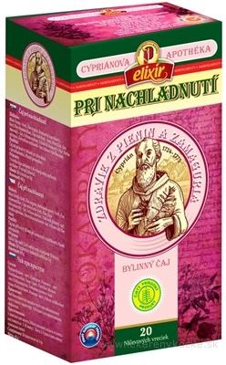 AGROKARPATY CYPRIÁN, PRI NACHLADNUTÍ bylinný čaj, čistý prírodný produkt, 20x2 g (40 g)