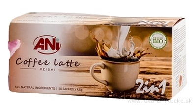 ANi Coffee Latte 2in1 vrecúška 20x4,5 g (90 g)