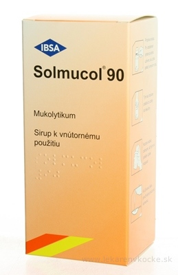 Solmucol 90 ml plv sir (liek.PE) 1x90 ml