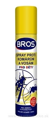 BROS spray proti komárom a osám pre deti 1x90 ml