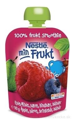 Nestlé min Frukt Malina Jablko Hruška kapsička, ovocná desiata (od ukonč. 6. mesiaca) 1x90 g