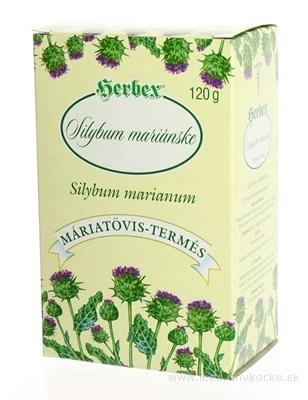 HERBEX SILYBUM MARIÁNSKE sypaný čaj 1x120 g