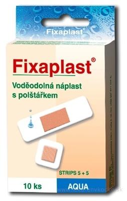 FIXAplast AQUA STRIPS 5+5 náplasť vodeodolná s vankúšikom 1x10 ks
