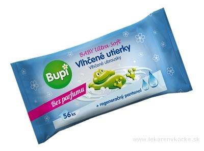 Bupi BABY Vlhčené utierky Ultra soft s pantenolom 1x56 ks