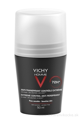VICHY HOMME DEO ROLL-ON INT.PROTI NADM.POTENIU 1x50 ml