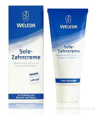 WELEDA Soľná zubná pasta (Sole-Zahncreme) 1x75 ml