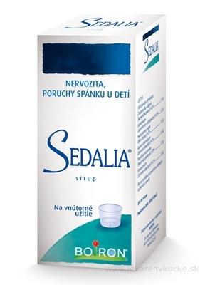 SEDALIA sir (fľ.skl.hnedá) 1x200 ml
