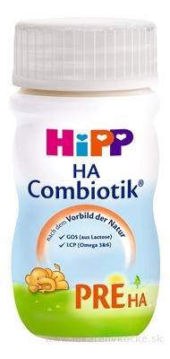 HiPP PRE HA Combiotik tekutá, dietetická dojč. výživa 24x90 ml