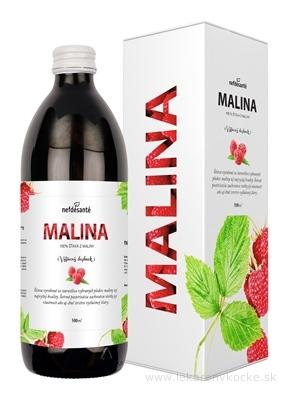 nefdesanté MALINA šťava 1x500 ml