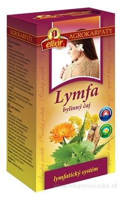 AGROKARPATY elixír BIO Lymfa bylinný čaj v nálevových vreckách 20x2 g (40 g)