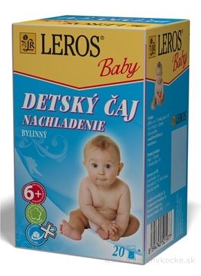 LEROS BABY DETSKÝ ČAJ NACHLADENIE bylinný 20x2 g (40 g)