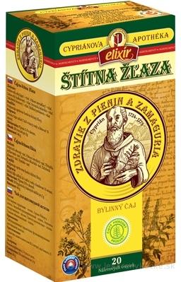 AGROKARPATY CYPRIÁN, ŠTÍTNA ŽĽAZA bylinný čaj, čistý prírodný produkt, 20x2 g (40 g)
