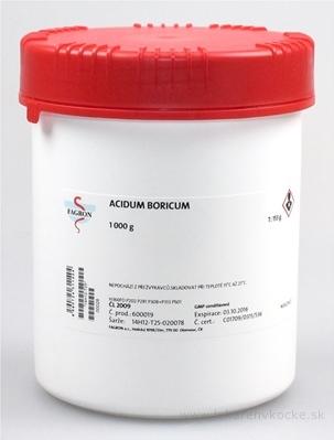 Acidum boricum - FAGRON v dóze 1x1000 g