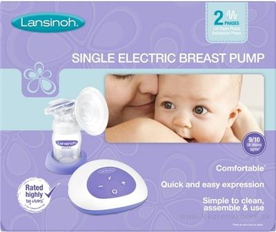 LANSINOH Single odsávačka mlieka elektrická (dvojfázová) 1x1 ks