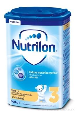 Nutrilon 3 Pronutra Vanilla batoľacia mliečna výživa v prášku (od ukonč. 12. mesiaca) 1x800 g