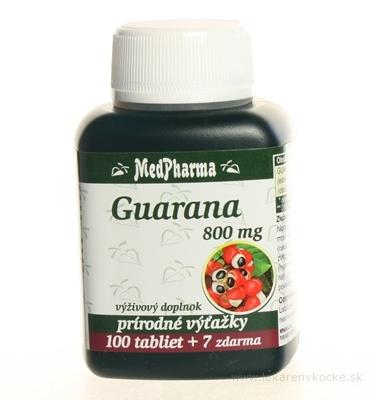 MedPharma GUARANA 800MG tbl 100+7 zadarmo (107 ks)