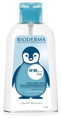 BIODERMA ABCDerm H2O REVERZNA PUMPA micelárna čistiaca voda 1x1 l