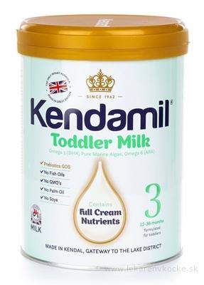 KENDAMIL 3 batoľacie mlieko s DHA (12 - 36 mesiacov) 1x900 g