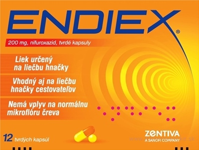 ENDIEX cps dur 200 mg (blister PVC/Al) 1x12 ks