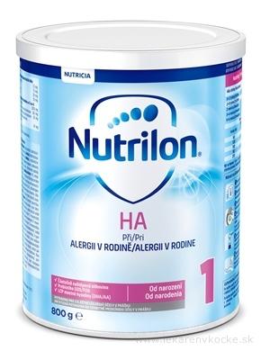 Nutrilon 1 HA mliečna výživa v prášku (od narodenia) 1x800 g