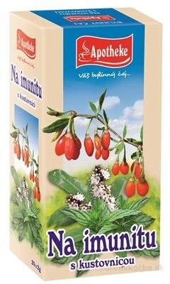APOTHEKE Na imunitu s kustovnicou bylinná zmes v záparových vreckách 20x2 g (40 g)