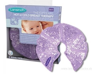 LANSINOH TheraPearl 3v1 teplá a chladná terapia na prsníky 1x2 ks