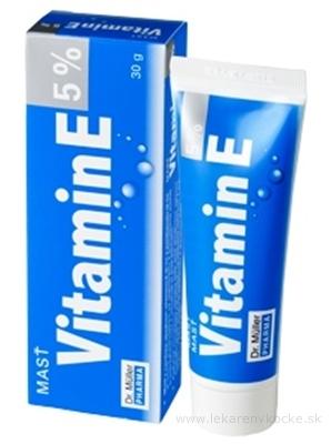 Dr. Müller VITAMÍN E 5% Masť 1x30 g