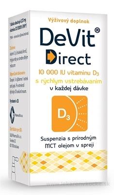 DeVit Direct 10 000 IU sprej 1x6 ml