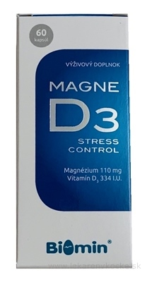 BIOMIN MAGNE D3 Stress Control cps 1x60 ks