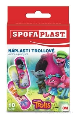 3M SPOFAPLAST č.113 Náplasti TROLLOVIA detské 1x10 ks