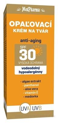 MedPharma OPAĽOVACÍ KRÉM NA TVÁR SPF 30 anti-aging 1x50 ml