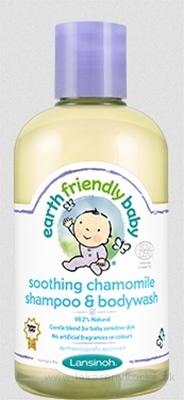 LANSINOH EFB Zjemňujúci šampón a telové mydlo harmanček 1x250 ml
