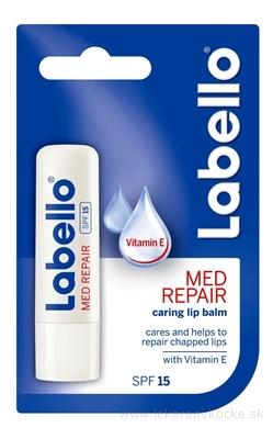 Labello MED REPAIR SPF 15 s vitamínom E, balzam na pery 1x4,8 g