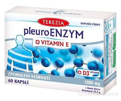 TEREZIA PleuroENZYM + VITAMIN E cps 1x60 ks