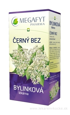 MEGAFYT Bylinková lekáreň BAZA ČIERNA bylinný čaj 20x1,5 g (30 g)
