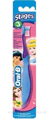 Oral-B ZK Stages 3 detská zubná kefka (5 - 7 rokov) 1x1 ks